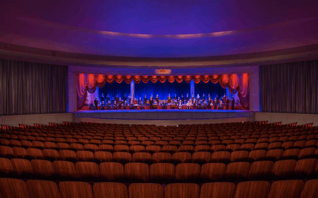 The Hall of Presidents Joe Biden Refurbishment