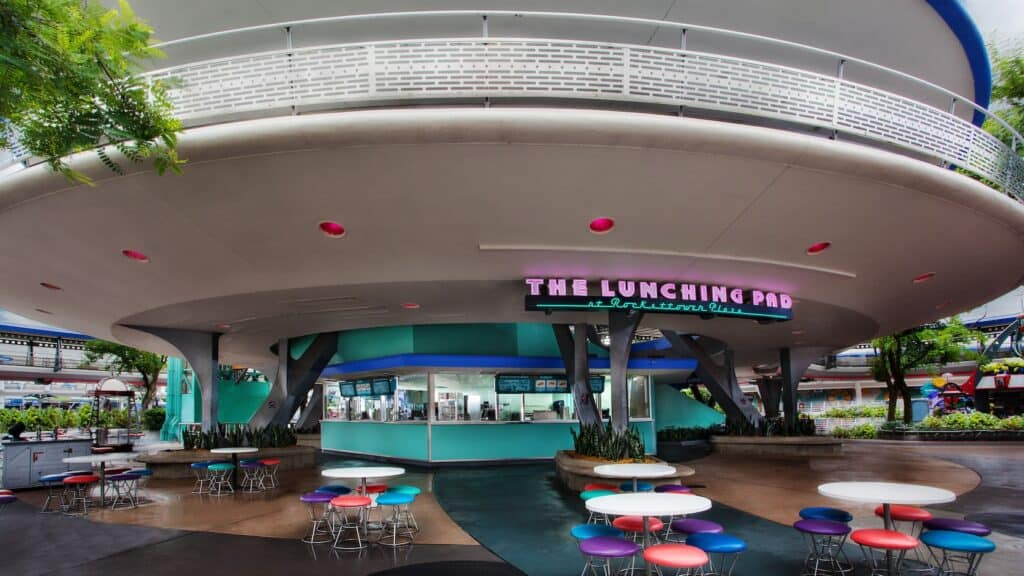 the lunching pad disneys magic kindgom open weekends only