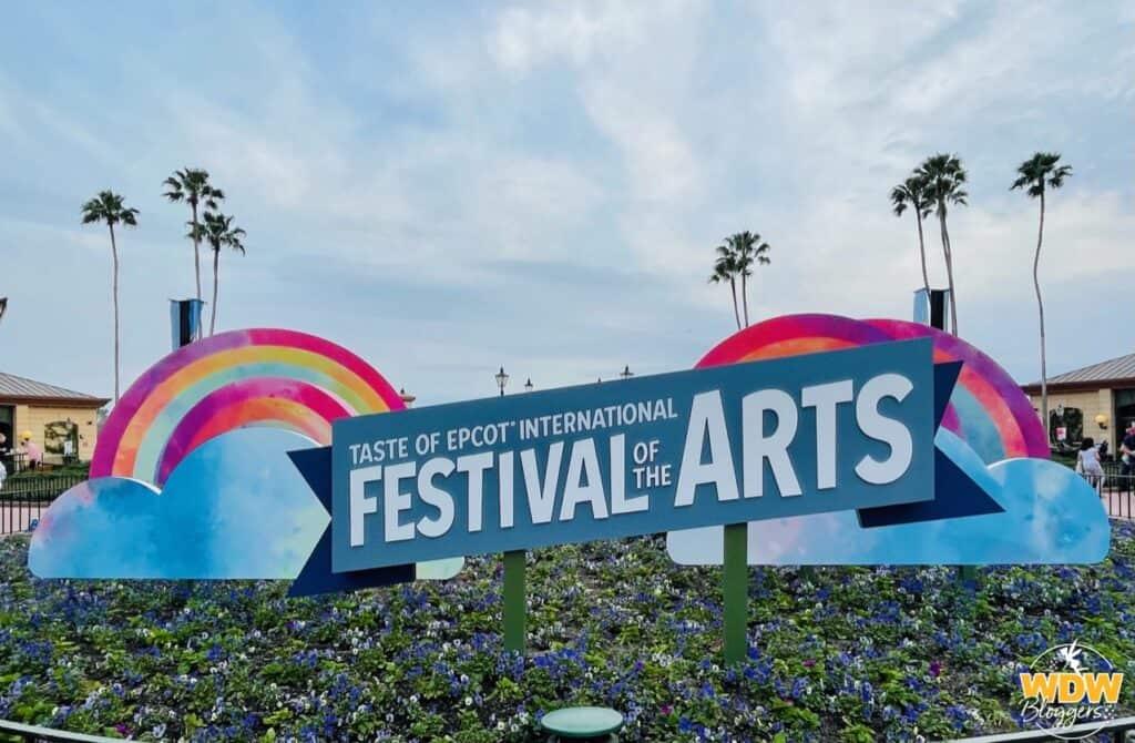 Epcot International Festival of the Arts Chalk 1