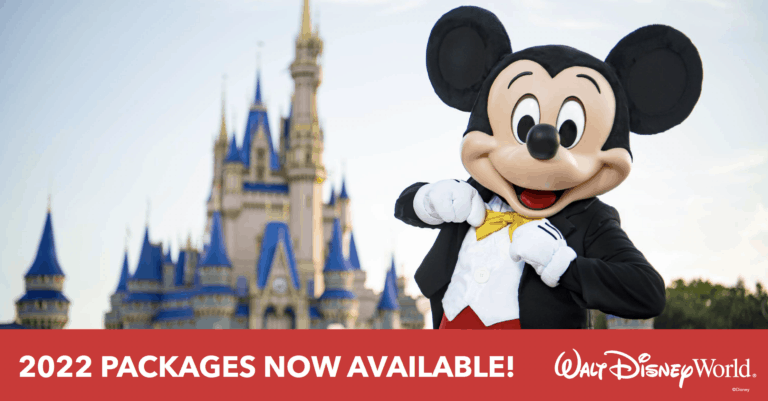 Walt Disney World 2022 Vacation Packages Now Available To Book