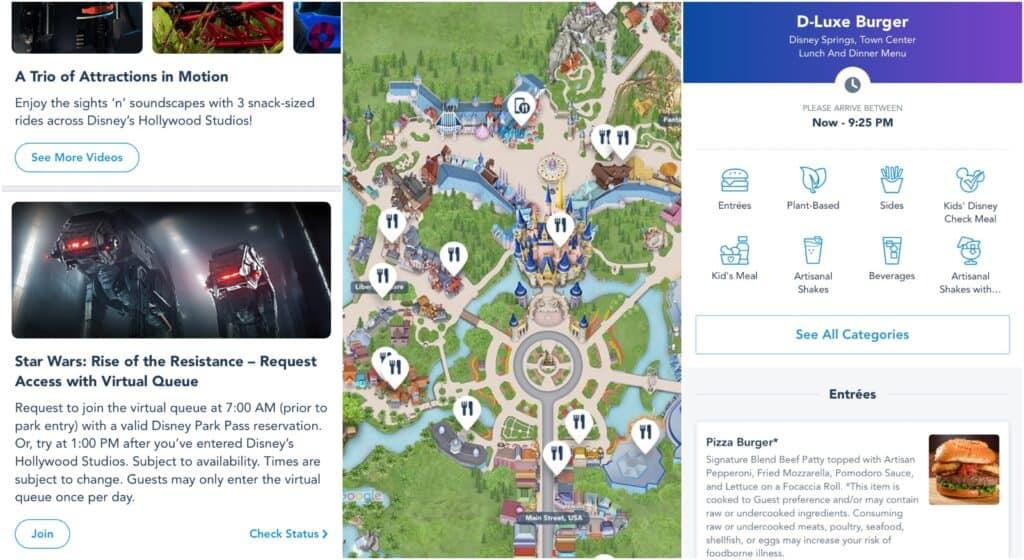My Disney Experience App Walt Disney World