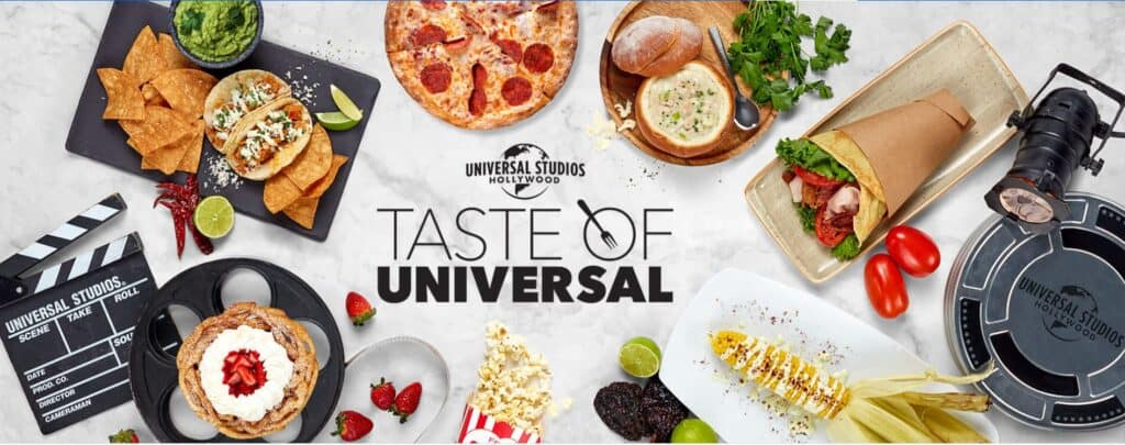 A Taste of Universal at Universal Studios Hollywood 1