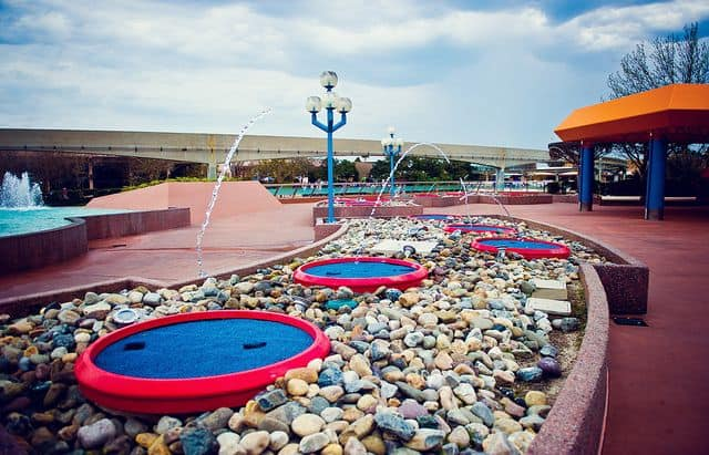 Jumping Fountains Return to Epcot 1