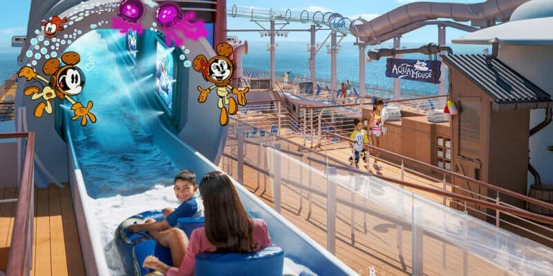 AquaMouse-Water-Slide-Attraction-on-the-Disney-Wish