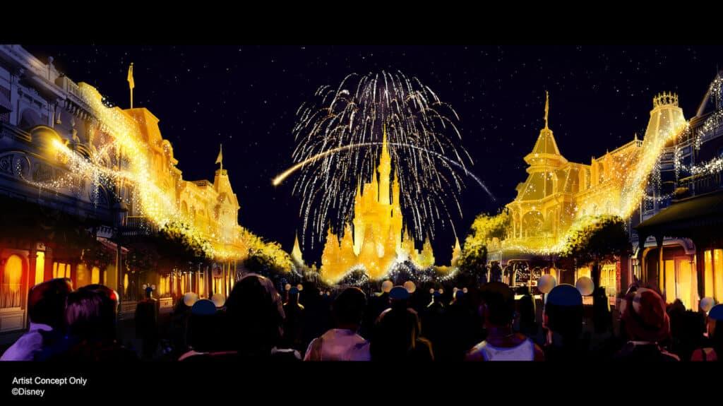 Walt-Disney-World-50th-Anniversary-Enchantment-Fireworks-at-Magic-Kingdom