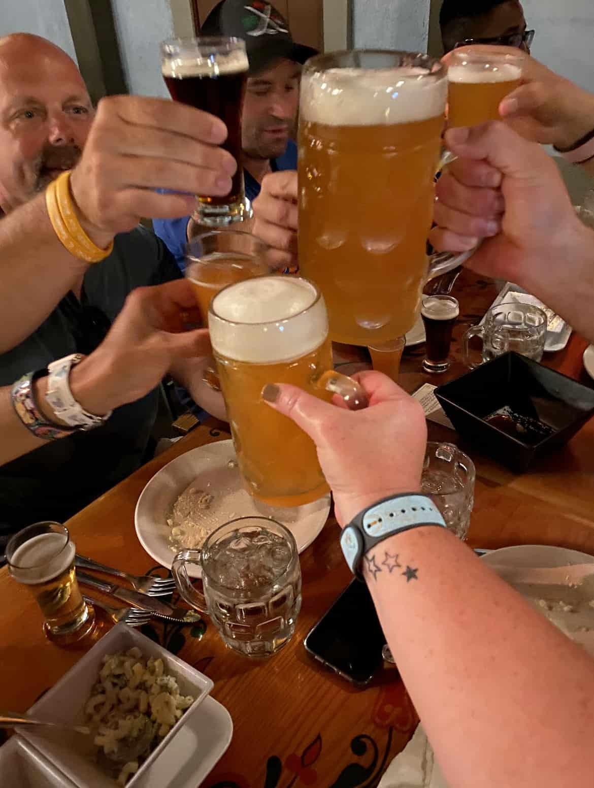Beer-at-Biergarten-Germany